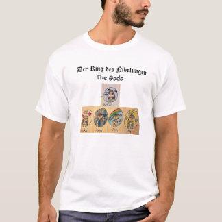 T-shirt DES Nibelungen d'anneau de Der : Les dieux