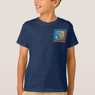T-shirt Des rivages de conserve - protégez Wildife