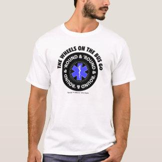 T-shirt Des roues sur l'autobus - fatiguez la chemise #2