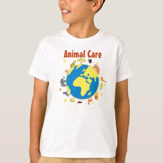 T-shirt des soins des animaux - enfant
