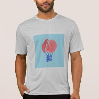 T-shirt des sports des hommes de ballon à air