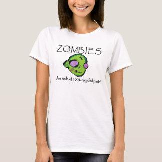 T-shirt Des zombis sont faits de pièces réutilisées par
