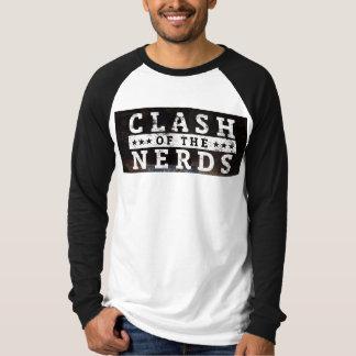 T-shirt Désaccord de la chemise de base-ball de .com de