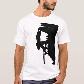 T-shirt d'escalade de roche