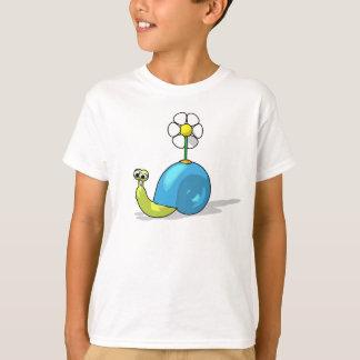 T-shirt d'ESCARGOT de TOURNESOL