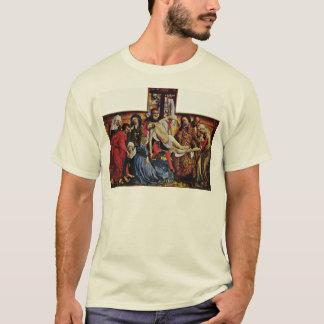 T-shirt Descente de la croix par Weyden Rogier Van Der