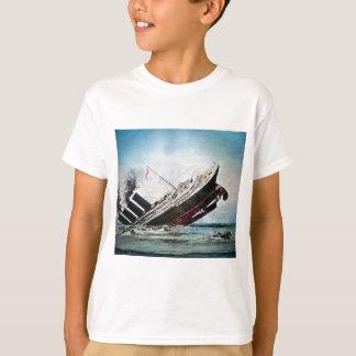 T-shirt Descente de la glissière de lanterne magique