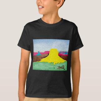 T-shirt Désert coloré