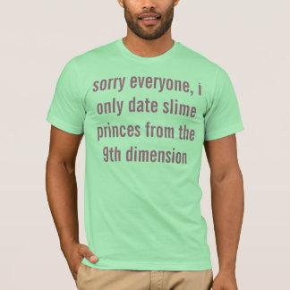 T-shirt désolé