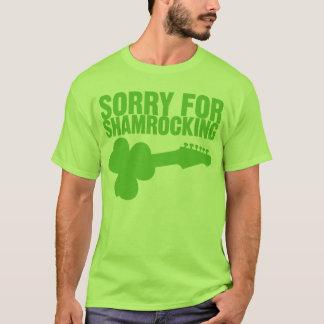 T-shirt Désolé pour Shamrocking