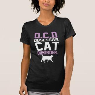 T-shirt Désordre obsédant de chat