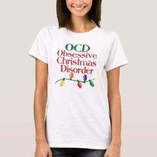 T-shirt Désordre obsédant de Noël