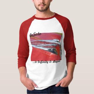 T-shirt DeSoto 1946 1947 1948 crus de déesse de vol