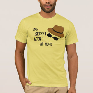 T-shirt d'espion pour des espions d'aspirant