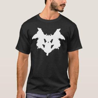 T-shirt d'essai de Rorschach
