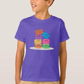 T-shirt Dessert doux français de biscuit de macarons de