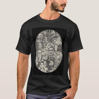 T-shirt Dessin de Barack Obama, de Michelle Obama et de