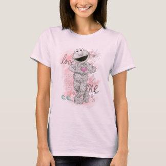 T-shirt Dessin de croquis d'Elmo B&W