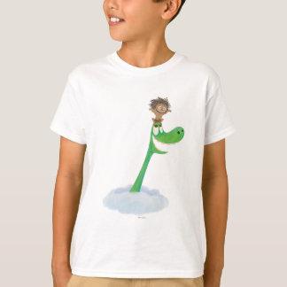 T-shirt Dessin de tache et d'Arlo en nuages