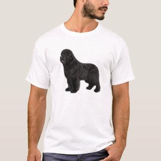T-shirt Dessin de Terre-Neuve