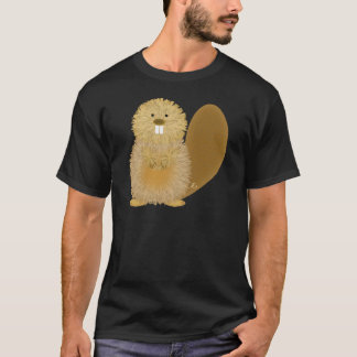 T-shirt Dessins animaux adorables : Castor