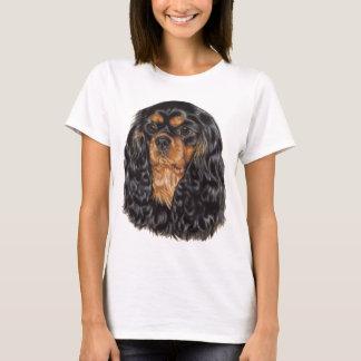 T-shirt Dessus cavalier d'épagneul de roi Charles