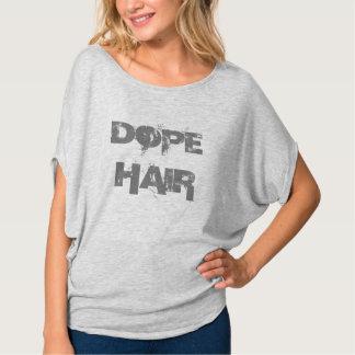 T-shirt Dessus de Bella Flowy de CHEVEUX de DOPANT