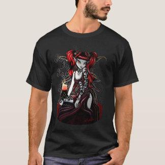 T-shirt Dessus de fée du feu d'obscurité de Terra