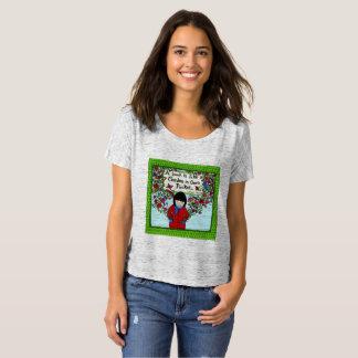 T-shirt Dessus de Lin PJ de grâce