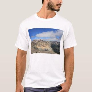 T-shirt Dessus de montagne de chaîne des Andes, Patagonia
