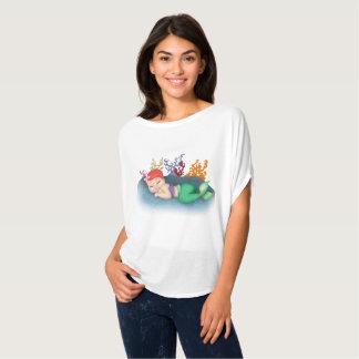 T-shirt Dessus de sommeil Merbaby
