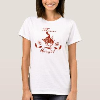 T-SHIRT DESSUS DE SPAGHETTI DE COW-GIRL DU TEXAS