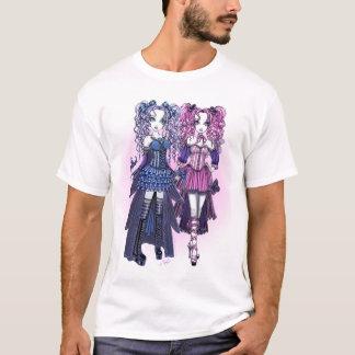 T-shirt Dessus féerique gothique de soeur de Haylee et de
