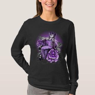 T-shirt Dessus féerique rose de violette d'affinité