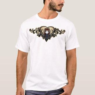 T-shirt Dessus féerique victorien gothique d'art de la