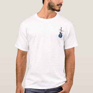 T-shirt Dessus figure de flamme de D.C.A.