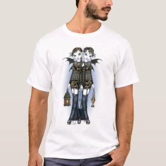 """T-shirt Dessus jumeau de fées de dragon de """"Sienna et de"""
