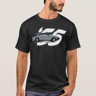 T-shirt Dessus noir '55 Chevy de 2 ruelles