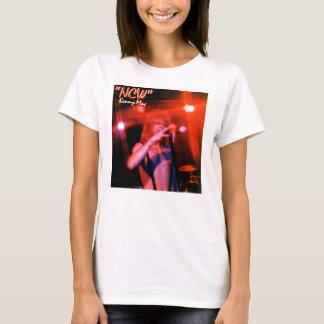 """T-shirt Dessus ROUGE vivant W """"NCW """" de courroie de Mac"""