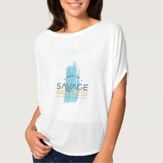 T-shirt Dessus sauvage de Flowy de santé