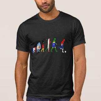 T-shirt Dessus serbes du football de drapeau de Srbija de