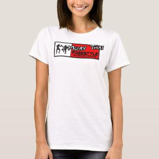 T-shirt Dessus thaïlandais de spaghetti de style libre de