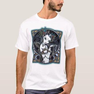 T-shirt Dessus tribal gothique d'art de danseur de fusion