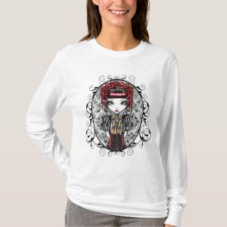 T-shirt Dessus victorien gothique d'Annie Fae