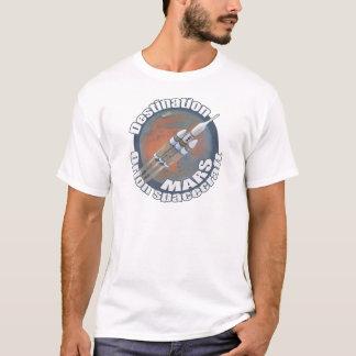 T-shirt Destination Mars d'Orion