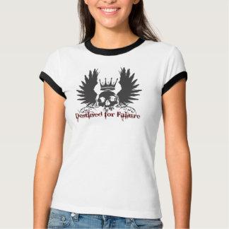 T-shirt Destiné pour le crâne d'échec