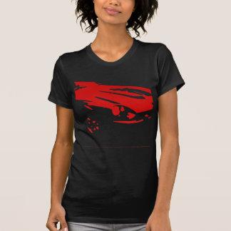 T-shirt Détail de Datsun 240Z - rouge sur la chemise