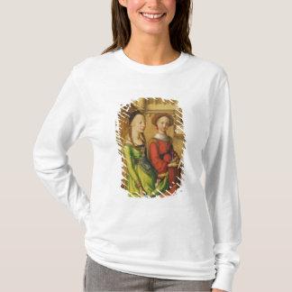 T-shirt Détail de la description du Christ dans