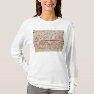 T-shirt Détail de la frise de soulagement sur l'est