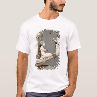 T-shirt Détail de proue d'un bateau avec la tête du Syrien